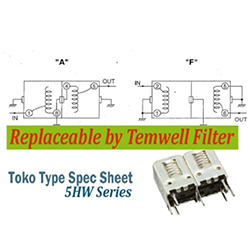 Toko-Alternative-Filter-5H-Series