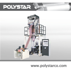 Two-Color-Stripes-HDPE blowing machines