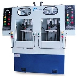Two-Spindle-Pneumatic-Peck-Drilling-Machine