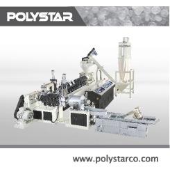 Two-stage-plastic-granulator