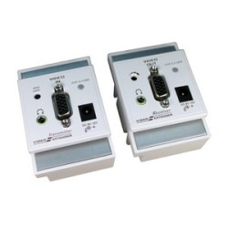 VGA-Audio-Extender-over-CAT5-Wall-Plate-UK-Type