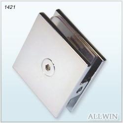 Wall-Mounted-Shower-Door-Glass-Clamp