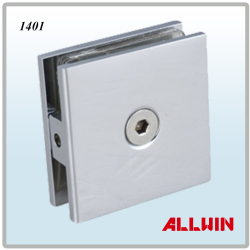 Wall-Mounted-Shower-Door-Glass-Clamp