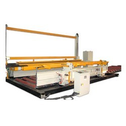 Welded Mesh Turning & Stacking Machine