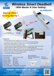 Wireless-Smart-Deadbolt-With-Master-User-Setting