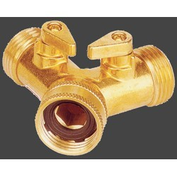 Y-Brass-Dual-Shut-Off-Garden-Hose-Connector