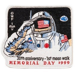 Outer Space Embroidered Patches