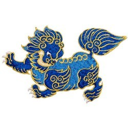 Chinoiserie / Chinese Embroidered Patches