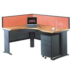 l fabric desk partitions