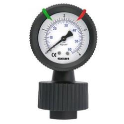 pp filled diaphragm pressure gauges