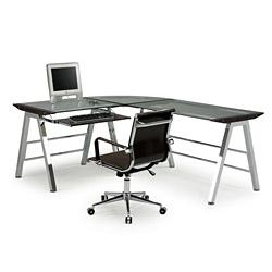 l shape computer desk