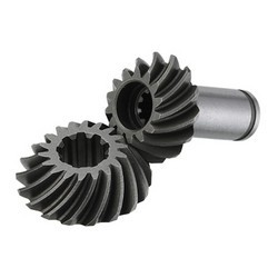 spiral bevel gear for lawn mowers