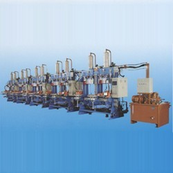 two molds hydraulic type BOM press