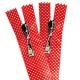 laminated net zipper