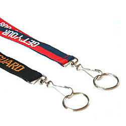 lanyards with clips