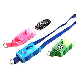 lanyard with mobil phone holder