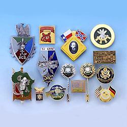 lapel pin, emblem, badge