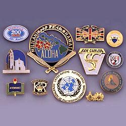 lapel pins (emblems/badges)