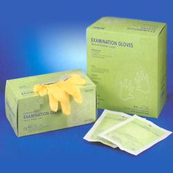 latex examination powered free gloves