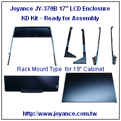 lcd rack mount enclosures