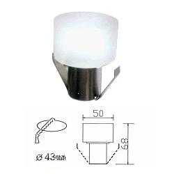 led 1w ice-block recessed light