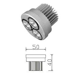 led 3w recessed light