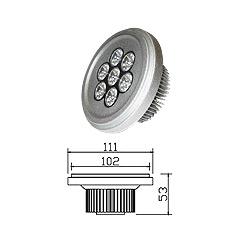 led 7w landing lights