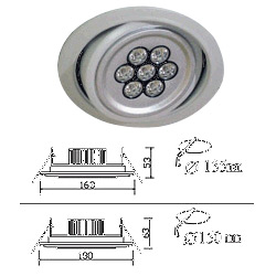 led 7w landing lights
