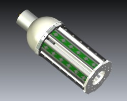 led aluminum plug lights