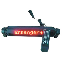 led displays for car