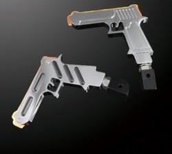 led-foot-peg-gun-shape