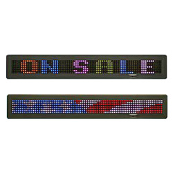led full color outdoor single line led displays