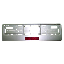 led license plate frame