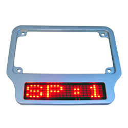 led moto car license plates