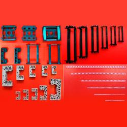 linear guide plastic component