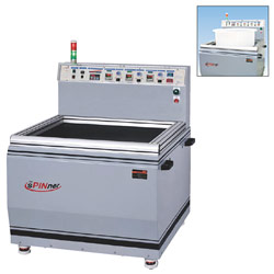 magnetic deburring and polishing machine
