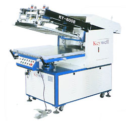 mechanical clam-shell flat screen printers, mechanical, flat, screen, printers.