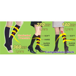 medical compression sock