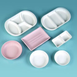 melamine cup and sauce dish