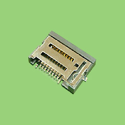memory stick card connector