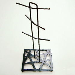 metal 6 pcs cup holder