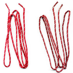 metal free shoelace cord lanyards