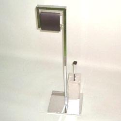 metal square tube toilet paper holder