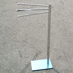 metal square tube towel holder