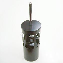 metal toilet brush holder