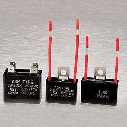 metallized polyester film capacitors