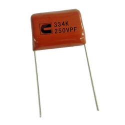 metallized polypropylene capacitor