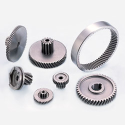 metallurgy helical gear part