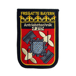 military embroidered patch