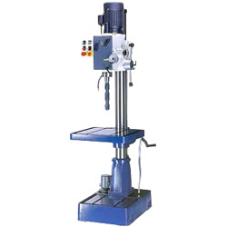 geard head floor type milling drilling machine